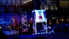 """7. Krakowska Noc Teatrów - spaktakl """"Ślepcy"""" (22:00, 2013/06/15)"""