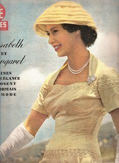 Queen Elizabeth in the 1950s