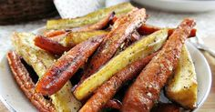 Honey and Balsamic Glazed Carrots and Parsnips