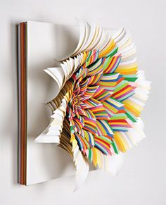 colorful paper sculpture ideas