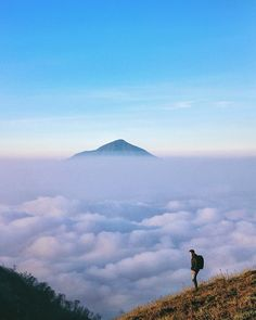 Mount Guntur, a mountain that is not too high but … – Miracles from Nature Places Around The World, Around The Worlds, Space Artwork, Natural Scenery, Hiking Trails, Wonderful Places, Wonders Of The World, Adventure Travel, Explore