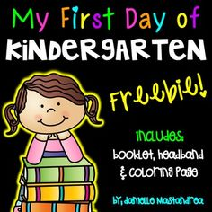 Browse kindergarten freebis resources on Teachers Pay Teachers, a marketplace trusted by millions of teachers for original educational resources. Kindergarten First Week, Welcome To Kindergarten, Kindergarten Coloring Pages, Welcome To School, Kindergarten Freebies, First Day Of School Activities, Kindergarten Lesson Plans, 1st Day Of School, Beginning Of School