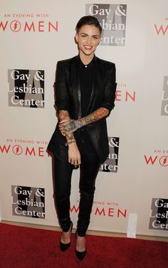 At another event for 'An Evening With Women Benefitting The Los Angeles LGBT Center.'   - ELLE.com