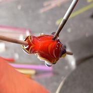 Sculptural Bead - Lampwork Tutorial by Make Glass Beads Bead Making Tutorials, Beading Tutorials, Fused Glass, Glass Beads, Making Glass, Dread Beads, How To Make Beads, Bead Art, Lampwork Beads