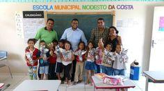 #News  Prefeito de Ponto dos Volantes distribui ovos de páscoa de graça as crianças da rede municipal de ensino