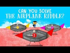 Can you solve the airplane riddle? - Judd A. Schorr   TED-Ed