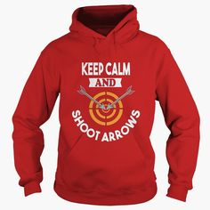#Archery Shirt - Keep Calm and Shoot Arrows Funny T-shirt #Archery Archer Gift, Order HERE ==> https://www.sunfrog.com/LifeStyle/111570808-357141259.html?8273, Please tag & share with your friends who would love it , #birthdaygifts #xmasgifts #renegadelife