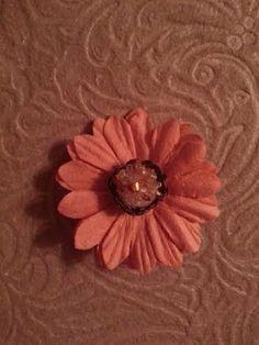 Shabby Chic Flower Hair Clip by ErikaRenaeDesigns on Etsy, $4.00
