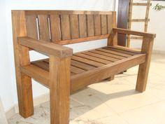 bancos de madeira modelos 3