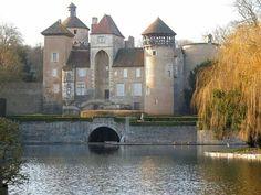 Château de Sercy, Bourgogne, France