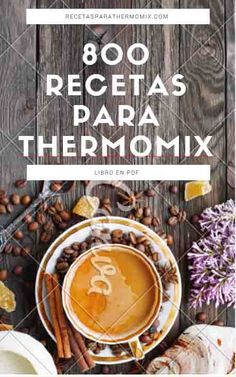 Libro gratis 800 recetas para Thermomix : descargate gratis el libro en pdf de recetas para thermomix, mas de 800 recetas de todo tipo, postres ... Thermomix Recipes Healthy, Thermomix Desserts, Chef Recipes, Wine Recipes, Delicious Deserts, Yummy Food, Yummy Yummy, Food N, Food And Drink