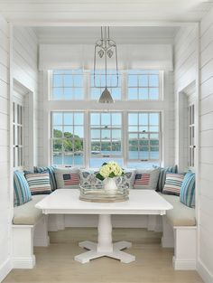 Anything About Inspirational Cape Cod House, Take a Look !, Anything About Inspirational Cape Cod House, Take a Look ! Cape Cod House Plans interior and exterior look Luxury Interior Design, Home Design, Interior Design Living Room, Room Interior, House Of Turquoise, Turquoise Kitchen, Sweet Home, The Home Edit, Dining Nook