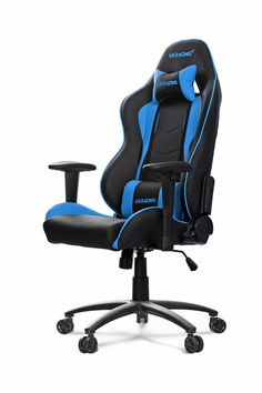 AKRACING Nitro Gaming Chair Blue #WRGamers #AKRACING