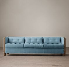 Shelter Arm Upholstered Sofa