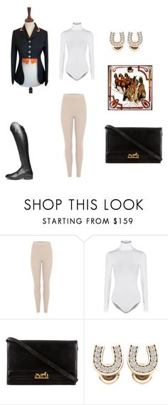 """Derby"" by tancho-cts on Polyvore featuring мода, adidas Originals, Wolford и Hermès"