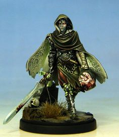 Wonderfully painted Twilight Knight from Kingdom Death