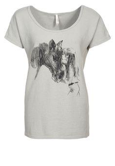 SHADOW - T-Shirts print - Grijs