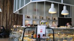 """food counter   at cafe   """"nucha""""   buenos Aires"""