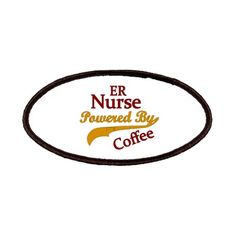 ER Nurse Powered By Coffee Patches