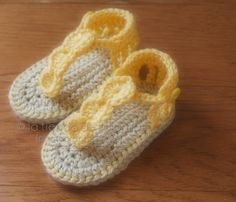 Crochet baby sandals Baby booties Baby shoes Baby por palomapch