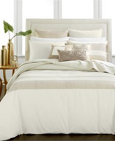 Hotel Collection Modern Eyelet Bedding Collection, Only at Macy's - Bedding Collections - Bed & Bath - Macy's