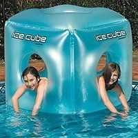 Ice Cube by Swimline #inflatable #pool toy #icecube $41.99