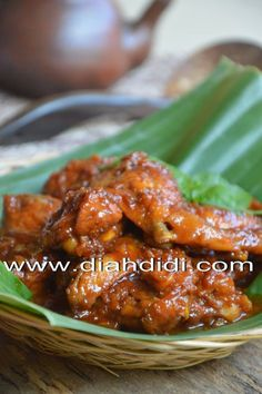 Diah Didi's Kitchen: Malbi Ayam A Food, Good Food, Food And Drink, Yummy Food, Indonesian Cuisine, Indonesian Recipes, Diah Didi Kitchen, Chicken Recepies, Recipe Chicken