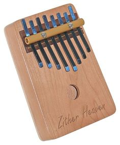 Zither Heaven 8Note Cherry Thumb Piano TP8NC by zitherheaven, $28.50