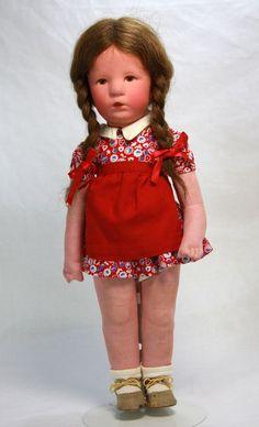 Vintage Mint Kathe Kruse Doll c1930