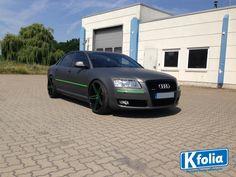 Dieser Audi ist nun dank dem K'folia-Team in Magdeburg ein richtiger Hingucker!