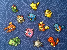 Pokémon Perler Bead Sprite 8 Bit Style Small Size by GameAddicts, €3.00