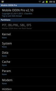 Mobile Odin ile Android Cihazınıza Rom Yüklerken Bilgisayara Gerek Yok