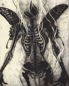 Art Sketches, Art Drawings, Arte Obscura, Horror Art, Surreal Art, Pretty Art, Aesthetic Art, Art Inspo, Fantasy Art