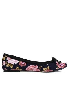 100% Vegan Floral Ballet Shoes -Cri de Coeur