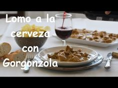 Receta de lomo a la cerveza con Gorogonzola Pudding, Beef, Youtube, Desserts, Food, Pork Loin, Beer, Cook, Meat