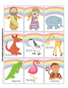 Noah's Ark Printables and Crafts
