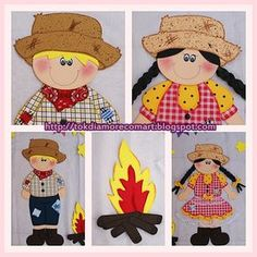 Aprender Brincando: Painel para Festa Junina na Educação Infantil Raggedy Ann, Clipart, Tweety, Minions, Hobbit, Pikachu, Teddy Bear, Classroom, Education