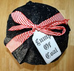 Lump of Black Coal Box Tutorial - fill with treats or how about our own Black Pepper collection?