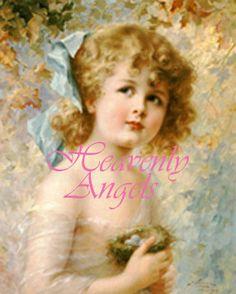 Victorian Child  Digital Collage Photo Download by HeavenlyAngels1,