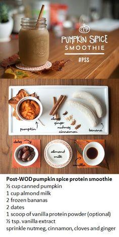 Paleo Pumpkin Spice Smoothie