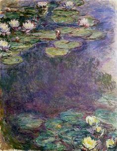 Claude Monet - Nymphéas.