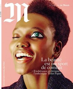 One Eye Symbolism. The cover of French magazine Le Monde features one big, blatant, creepy one-eye sign