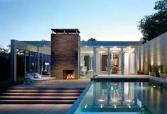love this contemporary home