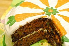 """Ultimate Carrot Cake: """"The best carrot cake ever! Anyone who tried it said they had never had such a moist, delicious carrot cake. This is truly the only recipe I will use from now on."""" -gemini08 #EasterEats"""