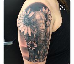 75 Big And Small Elephant Tattoo Ideas - Brighter Craft - 75 Big And Small Eleph. - 75 Big And Small Elephant Tattoo Ideas – Brighter Craft – 75 Big And Small Eleph… – 75 Big - Trendy Tattoos, Cute Tattoos, Beautiful Tattoos, Small Tattoos, Tatoos, Colorful Tattoos, Back Tattoos, Body Art Tattoos, New Tattoos