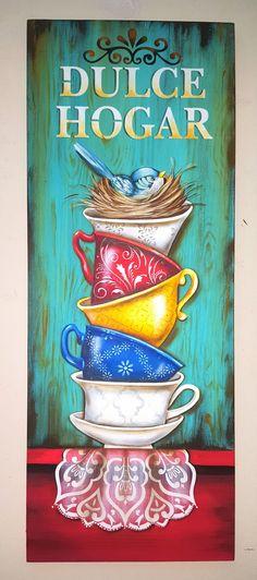 Ideas for reclaimed wood art diy stencils Arte Pallet, Wood Pallet Art, Reclaimed Wood Art, Spring Painting, Diy Painting, Painting On Wood, Tole Painting, Stencils, Stencil Diy