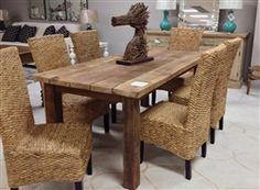 Rustic Pine Dining Table P.S.Faulk Furniture