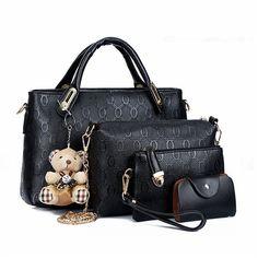 Bagail Woman New Versatile Solid Shoulder Bag