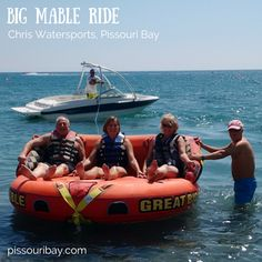 Scream if you wanna go faster... Fabulous fun! #BigMable ride at #ChrisWatersports #PissouriBay, #Cyprus. Post and pic: Nikki at pissouribay.com.