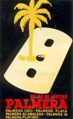 publicidad retro hojas de afeitar